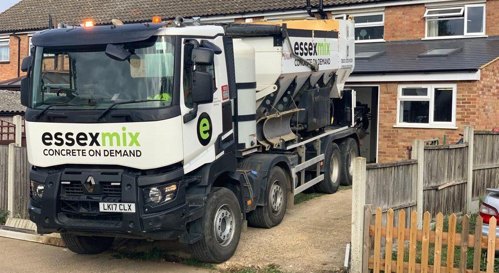 Essex Mix Concrete Pump Services onsite